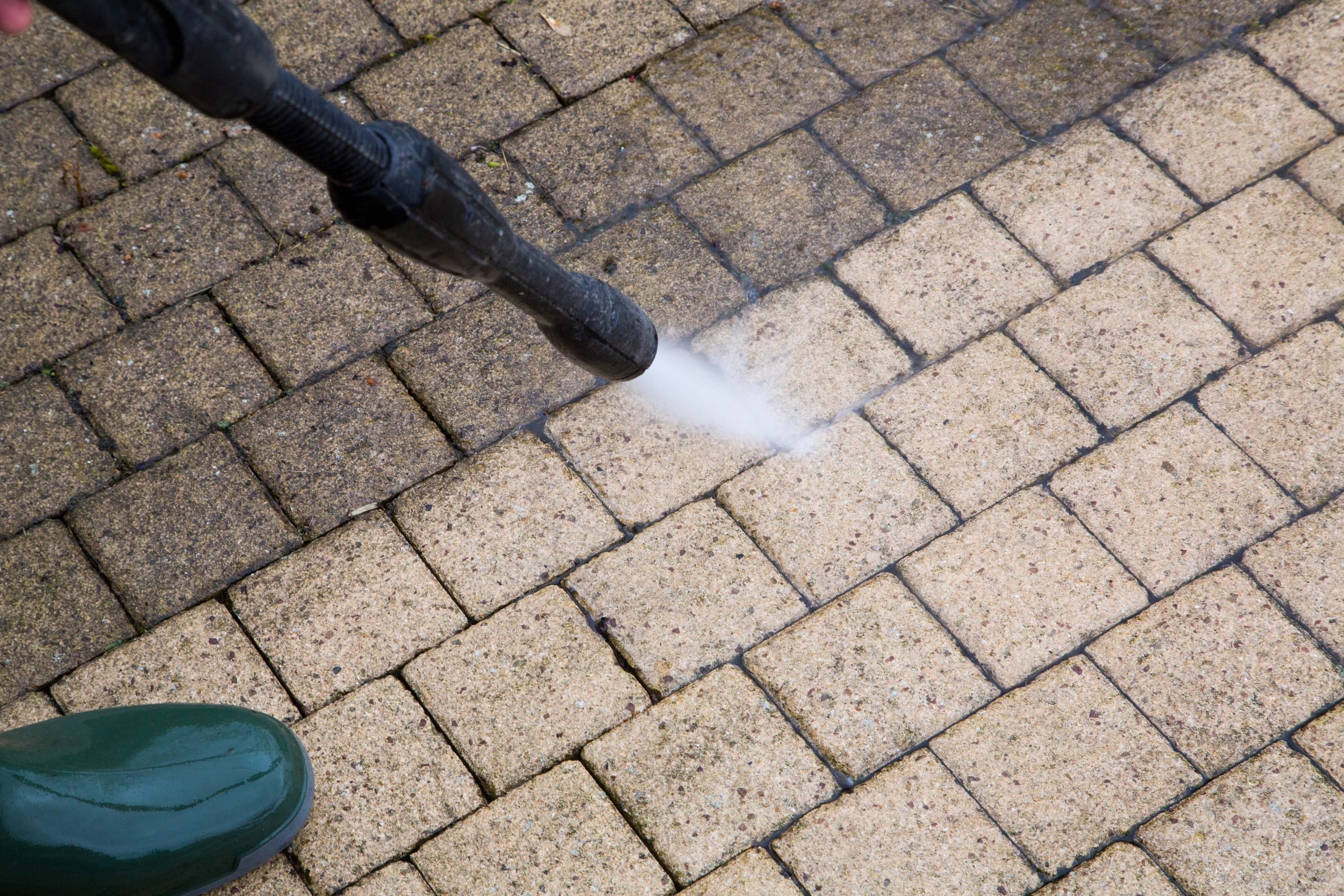 Terrace, and path driveway cleaning